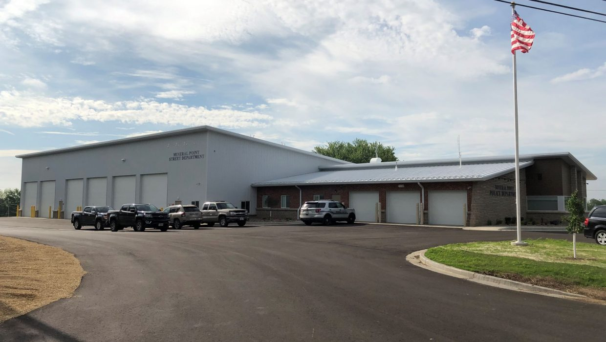Mineral Point City Garage – downsize