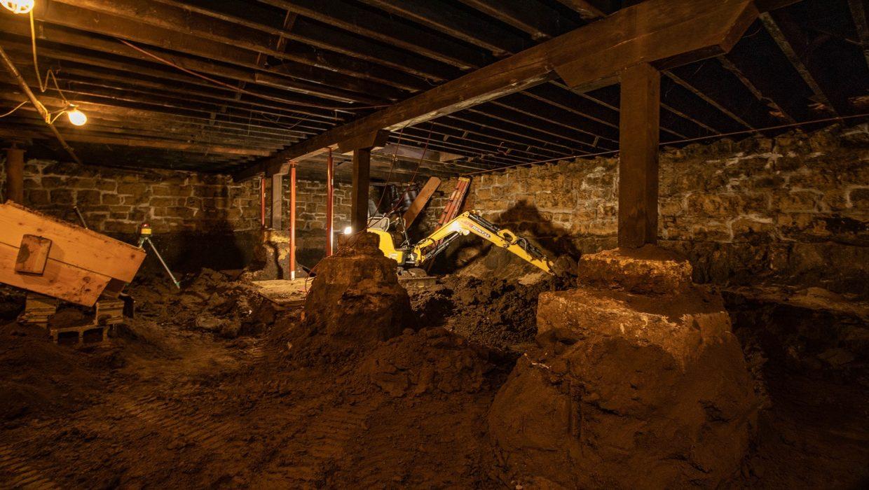 Key City construction basement