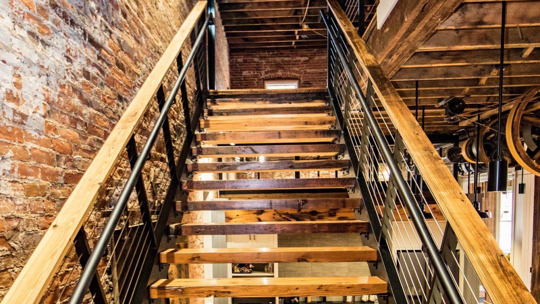 Key City stairs